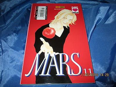MARS #  11  /  Planet  Manga  / 1. Deutsche  Ausgabe / Panini Comics 2003 , KULT