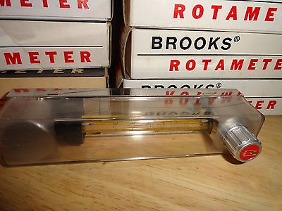 Brooks Rotameter Model 1510-bv Tube 2-65d