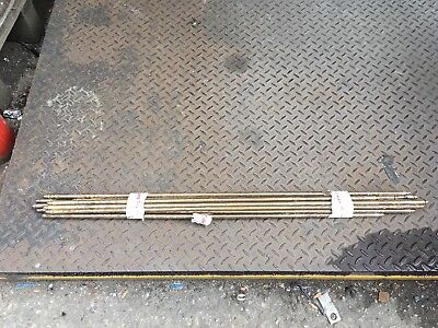 Vintage Vintage Reclaimed Brass Stair Rods See Description