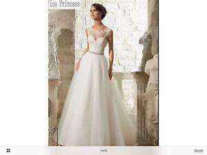 New Ivory Wedding Gown Glen Innes Glen Innes Area Preview