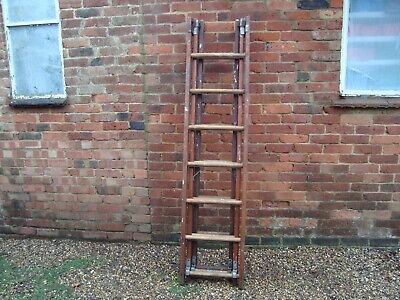 Vintage 3 piece wooden ladder