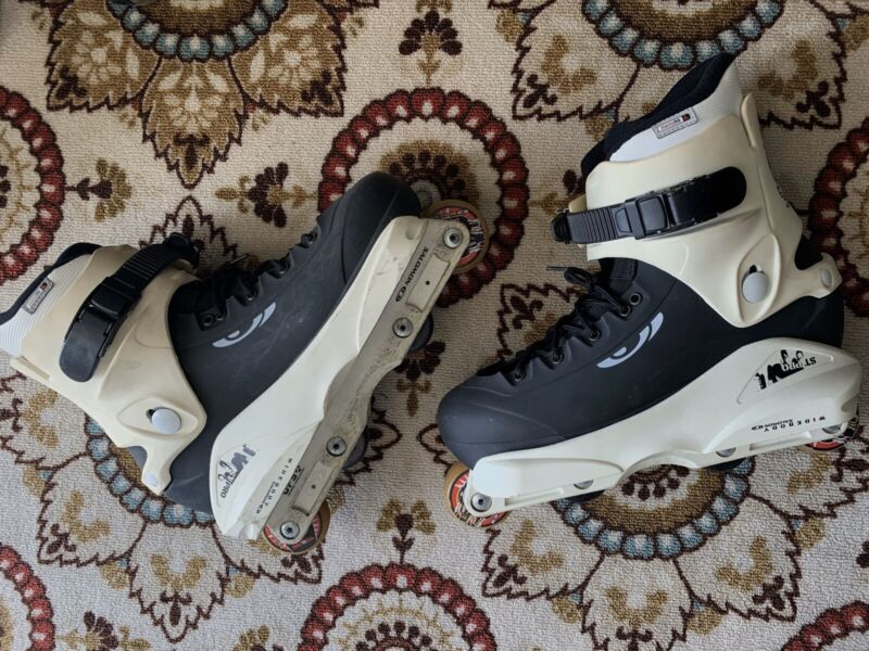 Salomon ST PRO Team UFS Aggressive Inline Skates Size US 9