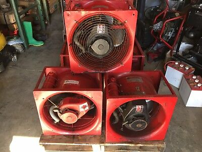 Super Vac Smoke Ejector Fan Tecumshe Gas Power Ventilation Systems