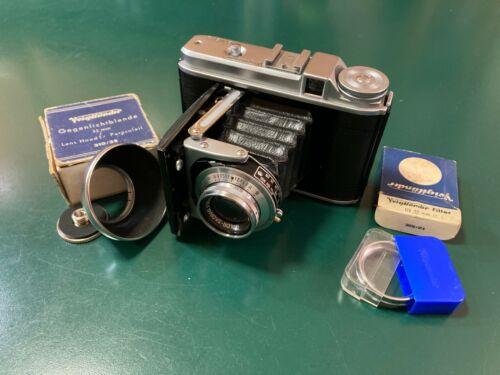 Voigtländer Perkeo II 6x6 120 Folding Film Camera - 80mm Color-Skopar [Tested]