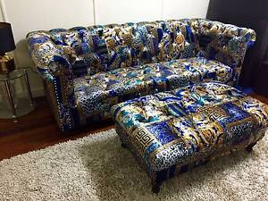Versace Chesterfield Sofa and Ottoman Holland Park Brisbane South West Preview