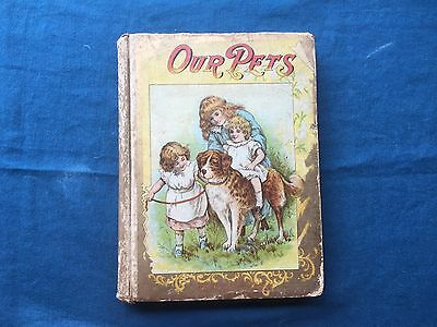Our Pets 1895 W B  Conkey Company  Charming Stories Intended To Instruct