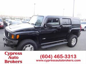 2007 Hummer H3 Leather & Sunroof