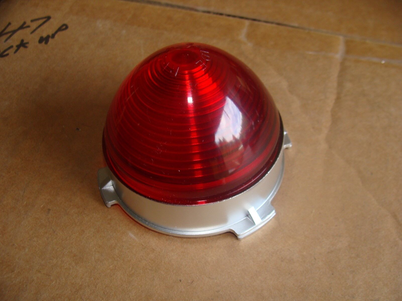 1953 Chevy center  tail light lens-- in tote