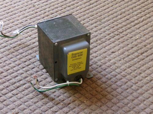 Stancor GIS-500 Isolation Transformer 500 VA