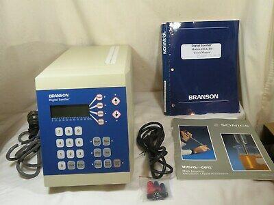 Branson Digital Sonifier Model- 250 Edp No- 100-132-885 As Is Please Read