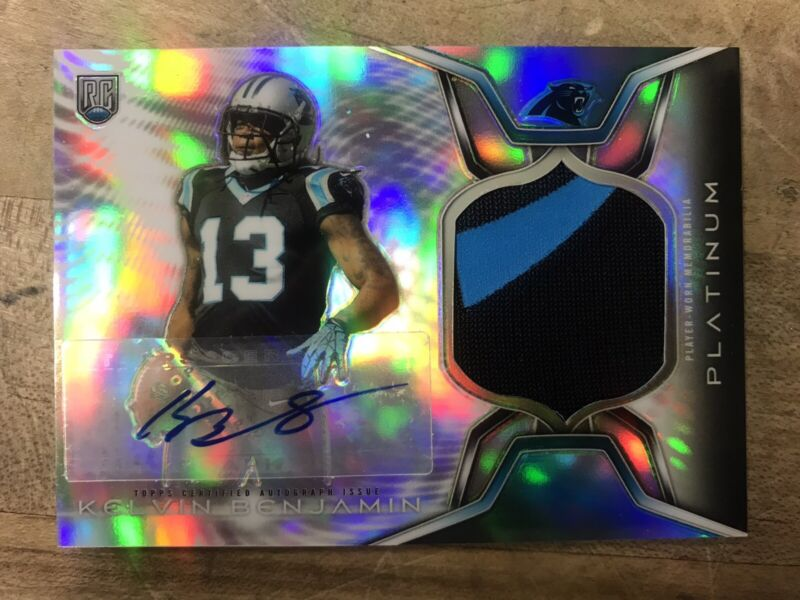 Kelvin Benjamin Football Card Database - Newest Products will be ...