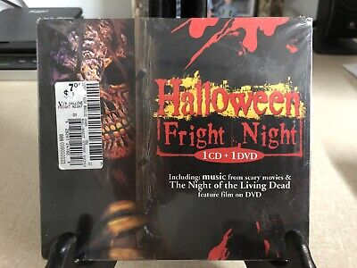 Halloween Fright Night - CD & Night Of The Living Dead DVD - Combo - Brand New](Halloween Fright Night Cd)