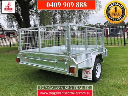 7x5 BOX TRAILER FULLY WELDED HOT DIP GALVANISED ATM 750KG Hallam Casey Area Preview