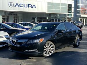 2016 Acura RLX ELITE | HYBRID | SH-AWD | ONLY54000KMS | OFFLEASE