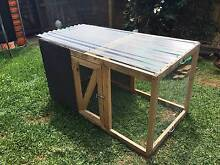 Portable animal/chicken house with door and shade cloth Bowen Hills Brisbane North East Preview