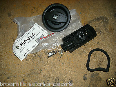HYMER MOTORHOME OUTER & INNER DRIVERS HABITATION DOOR HANDLE ASSEMBLY