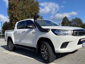 2017 Toyota Hilux Sr (4x4) 6 Sp Automatic Dual C/chas
