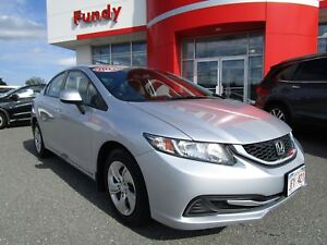 2013 Honda Civic LX w/ Heated Seats, Bluetooth, Heated Mirrors