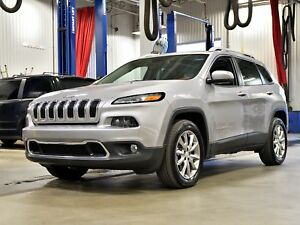 2017 Jeep Cherokee LIMITED * HITCH 4500LBS * TOIT * GPS