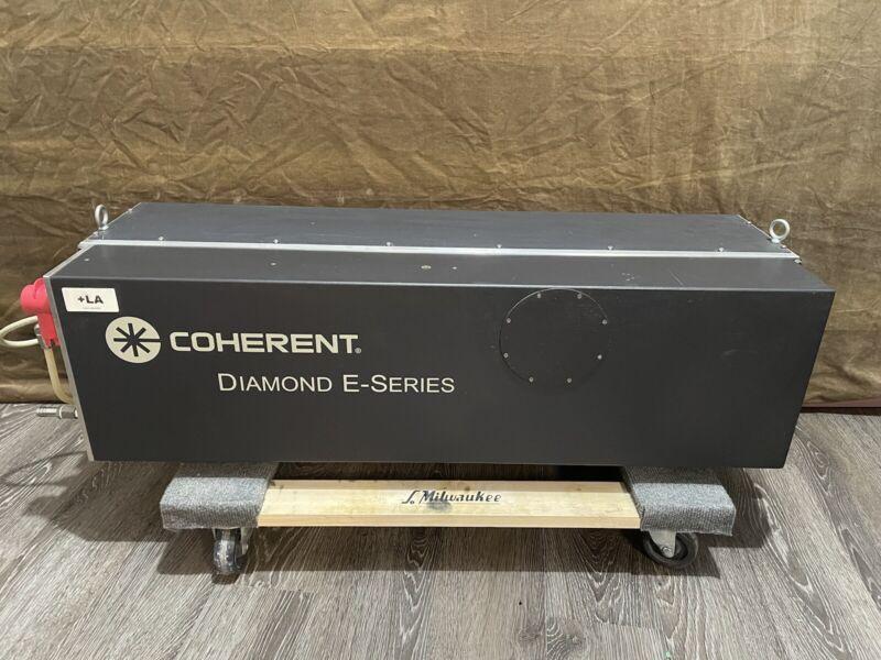 Coherent Diamond E-400 Laser Head w/ E-400 RF Power Supply 400W CO2 Laser System