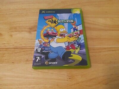 The Simpsons Hit and Run Xbox original game for sale  Shipping to Nigeria