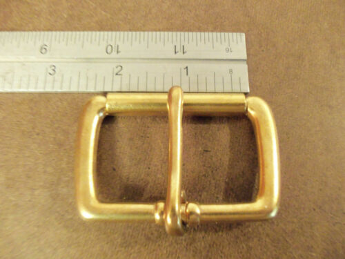 """2"""" Solid Brass End Bar Roller Buckle (Pack Of 2)"""