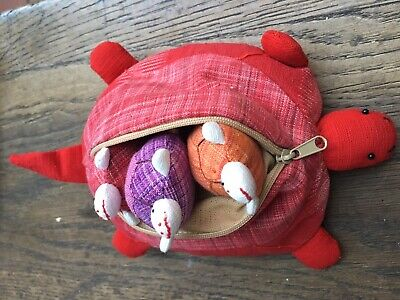 Pocket Pets, All They Need Is Love! 3 Small Tortoise Babies In A Big Mother