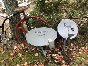 Bell or Shaw Dish with LNB
