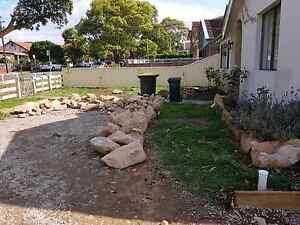 Sandstone Blocks Roscks Stones Feature rocks Canada Bay Canada Bay Area Preview
