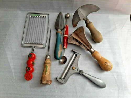 Vintage Antique Kitchen Utensil Tools Mixed lot of 7
