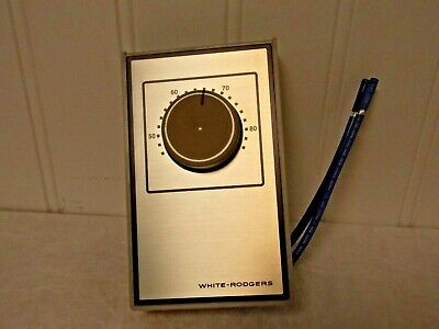 White-rodgers Line Voltage Wall Thermostat 40 To 85f Heat Only 01a65 641s1