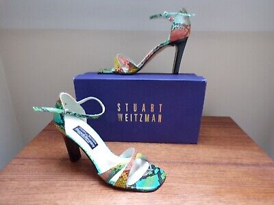 STUART WEITZMAN RUSSELL & BROMLEY MULTI COLOUR SHOES SIZE US 8 UK...