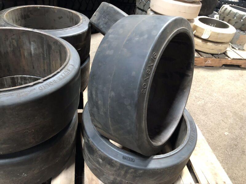 20x8x16 Mainetire Press On Tire Forklift Tires NashLift