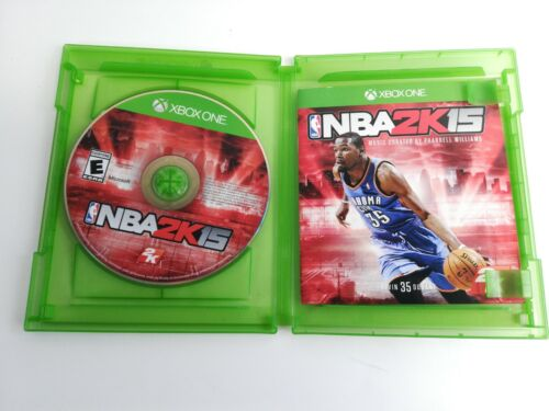 NBA 2K15 For Xbox One XBOX-ONE XB1 Sports Video Game  - $5.00