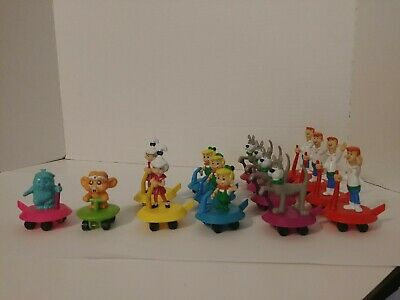 The Jetson Kids (The Jetsons Vehicle Space Gliders PVC Figure Wendys Kids Toy 1990 Applause)