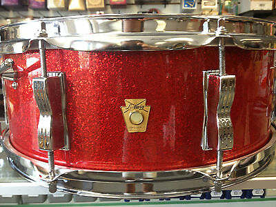 Ludwig Jazz Festival Snare Drum Jazz Fest 1964 1963 Red Sparkle