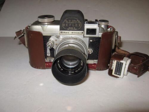 Rare Alpa Reflex Model 6 With Lens