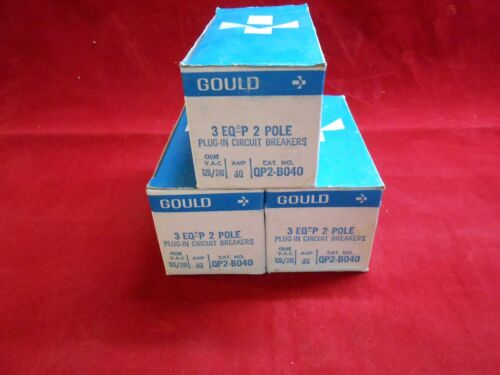 I-T-E/GOULD QP2-B040  Circuit Breakers  2-P 40AMP  240V - NEW