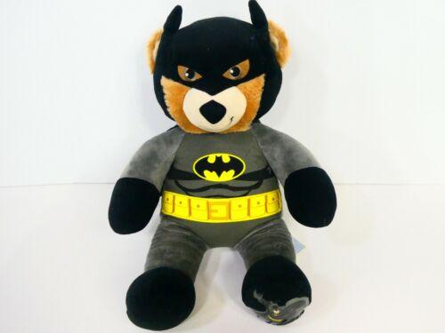 "Build-A-Bear 16"" Batman Teddy Bear W Cape! DC Comics Batman Collection Cuddly"