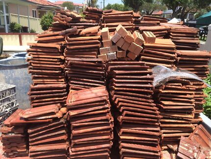 Terracotta roof tiles Greenacre Bankstown Area Preview