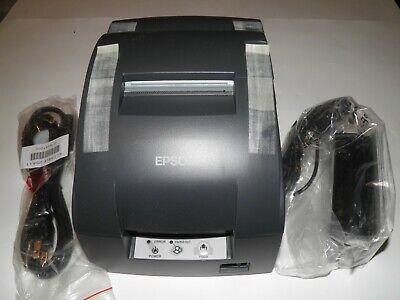 New Epson Model Tm-u220b Pos Receipt Printer M188b Ethernet Usb W Power Supply