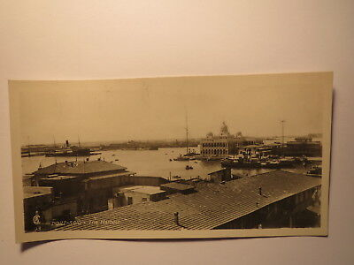 PORT SAID THE HARBOUR DER HAFEN GYPTEN FOTO KARTE