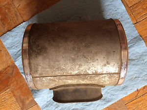 1968  KAWASAKI F4 250 SIDEWINDER BISON Air Box Filter Housing