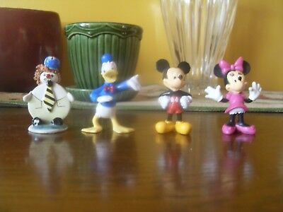 Disney Mickey Minnie Donald Duck Figurines