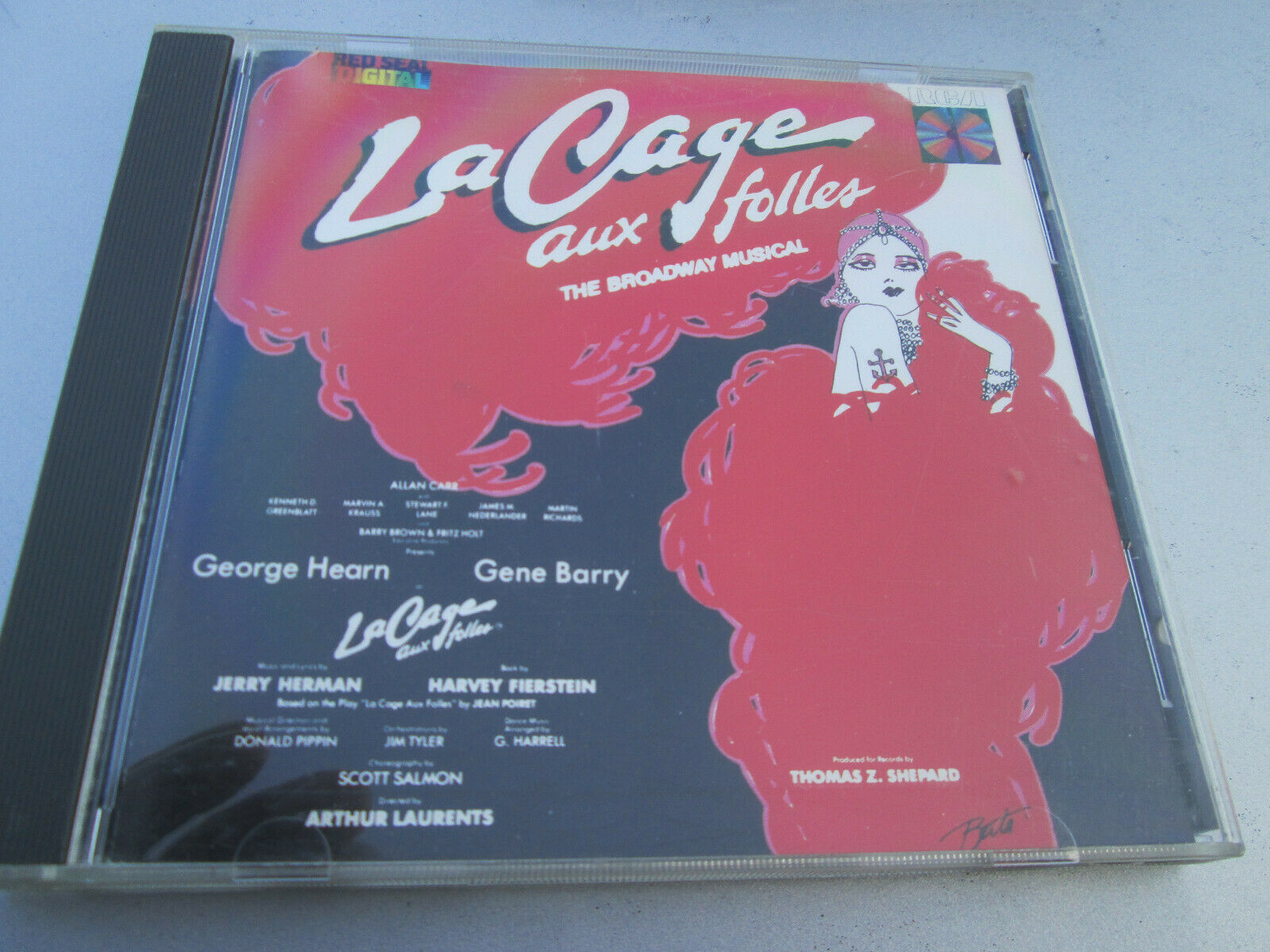 La Cage Aux Folles Broadway Musical - George Hearn Gene Barry - CLEAN COPY  - $9.99
