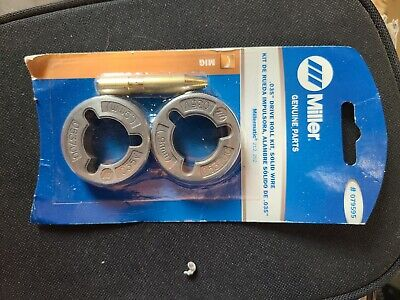 Miller Genuine .035 Drive Roll Kit For Millermatic 212 252 - Qty 1 - 079595