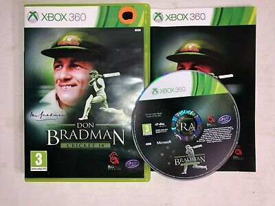 Don Bradman: Cricket 14 (Xbox 360, 2013) COMPLETE w/ Manual, PAL Version for sale  Shipping to India