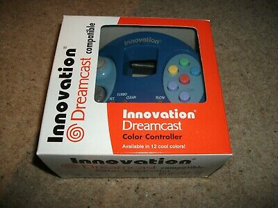 DREAMCAST CONTROLLER - INNOVATION - BLUE - NEW & BOXED