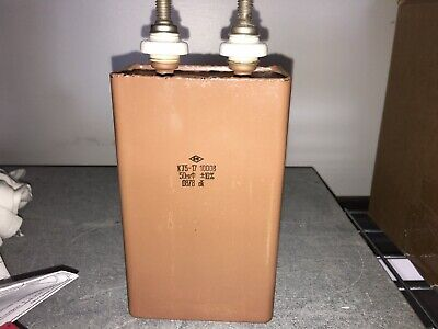 Russian 50 Uf 1000vdc Paper In Oil Capacitor 845211vt4cgm70 8 Available