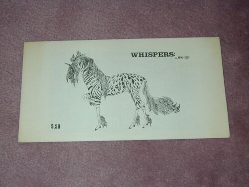 WHISPERS: A mini-issue fanzine from 1976